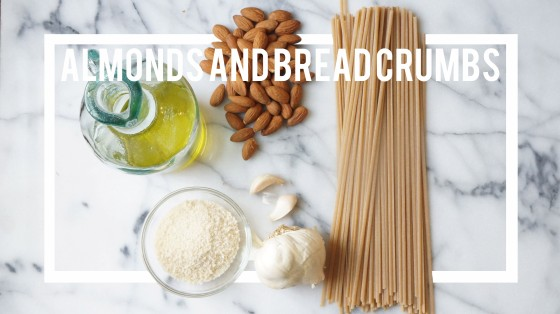 almond and breadcrumb pasta // kitchenblend