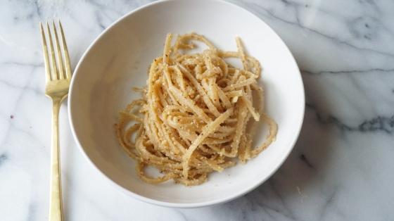 whole wheat pasta: two ways // kitchenblend