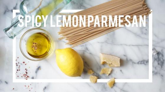 spicy lemon pasta // kitchenblend
