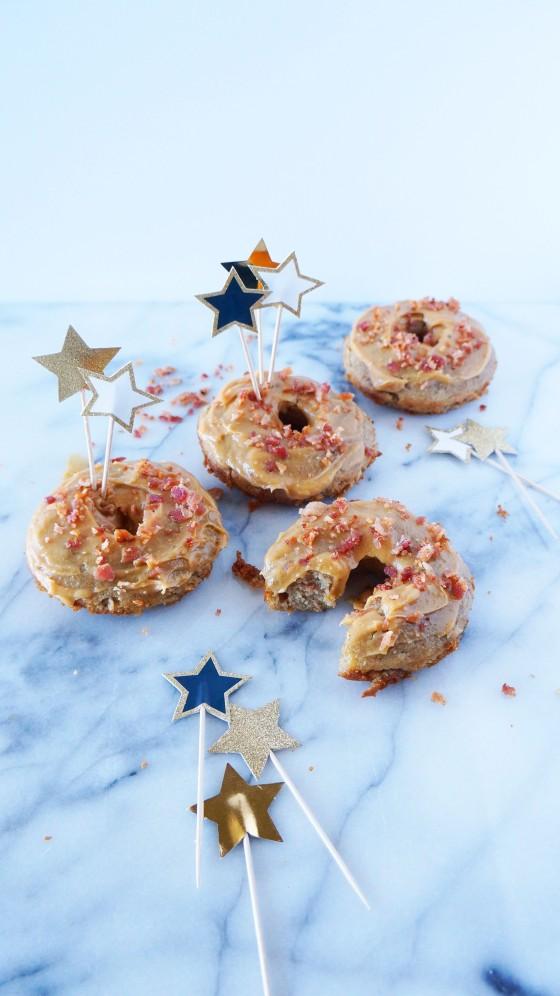 kitchenblend turns two // gluten free elvis donuts