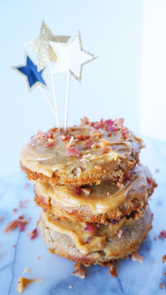 gluten free elvis donuts // kitchenblend