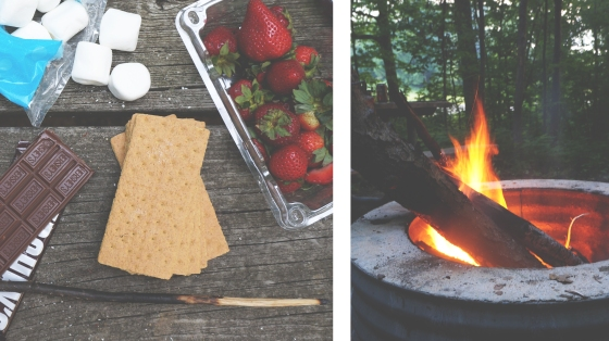 strawberry s'mores // kitchenblend