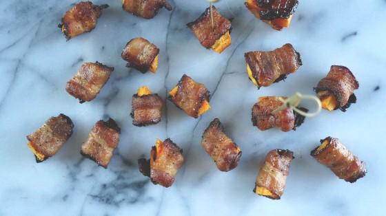 butternut squash pepper bacon bites