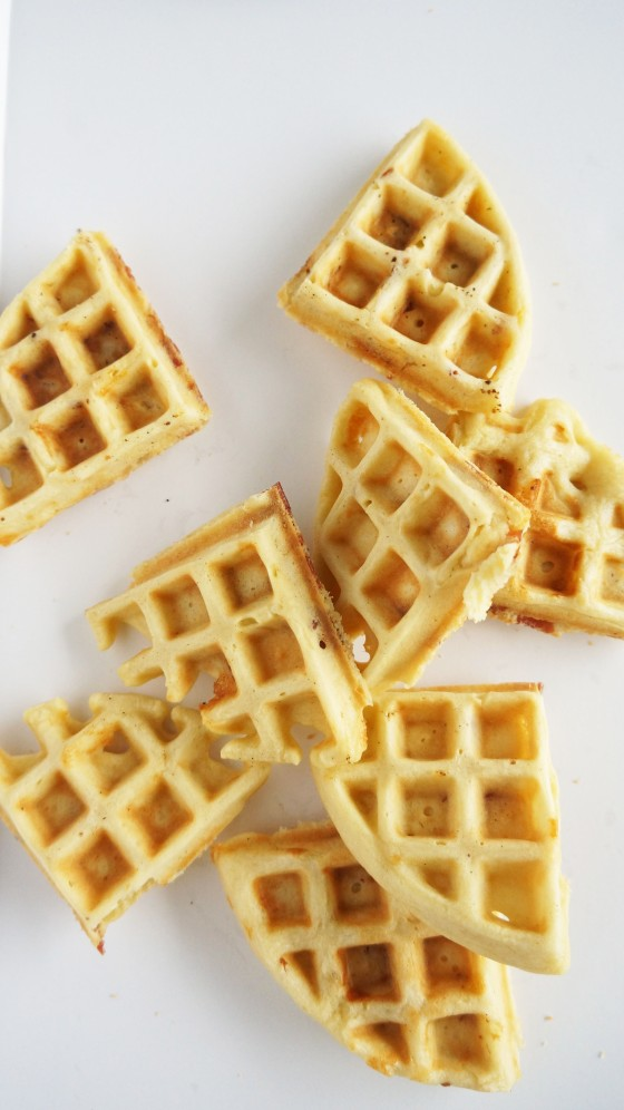 waffles all over
